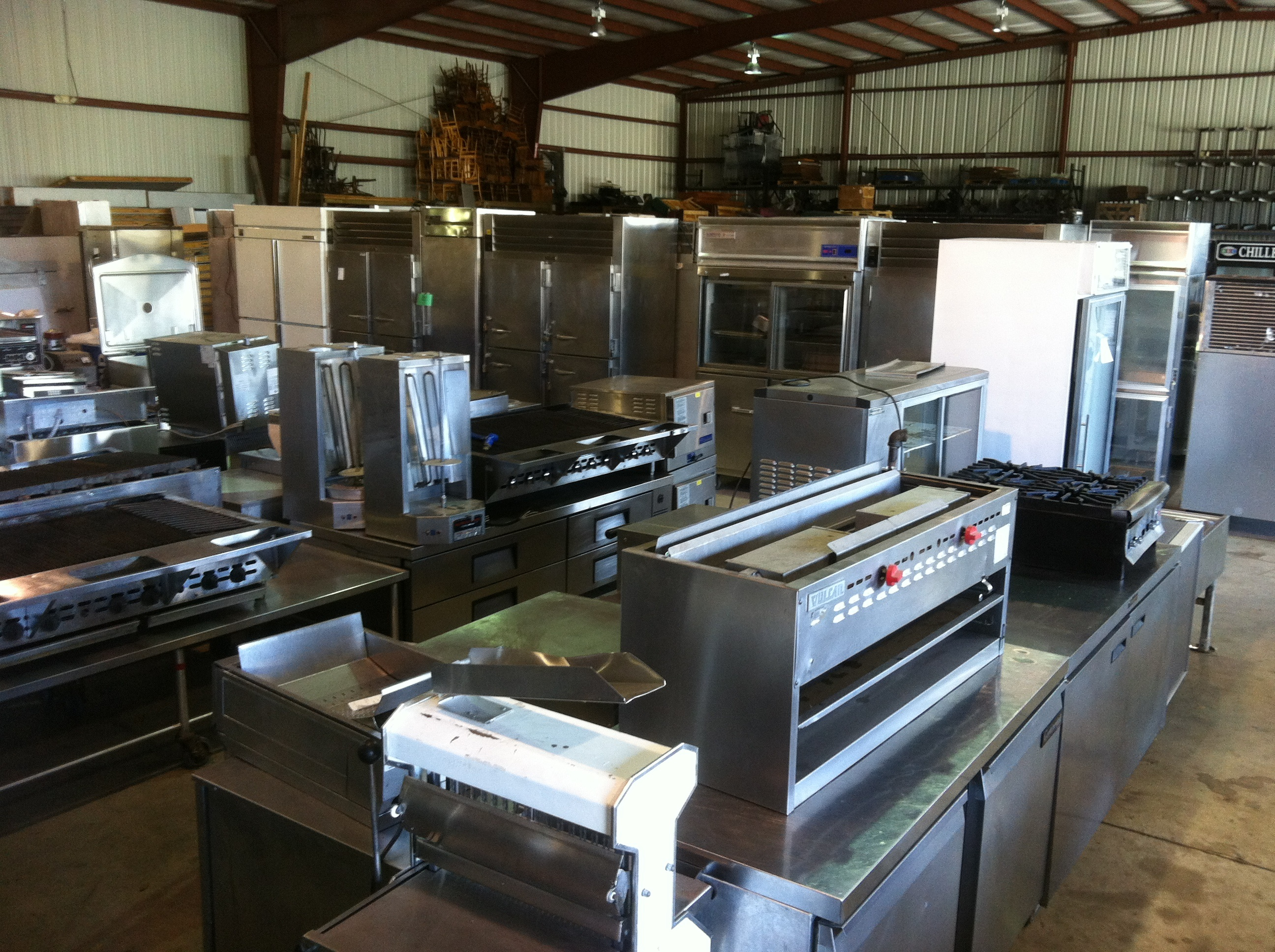 Restaurant Kitchen Equipment ~ Second hand all american restaurant equipment
